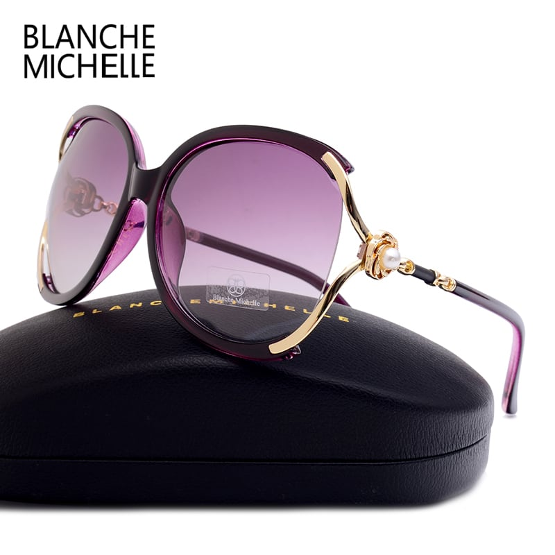 ab5a947a88f Blanche Michelle High Quality Polarized Sunglasses Women - Jeviu