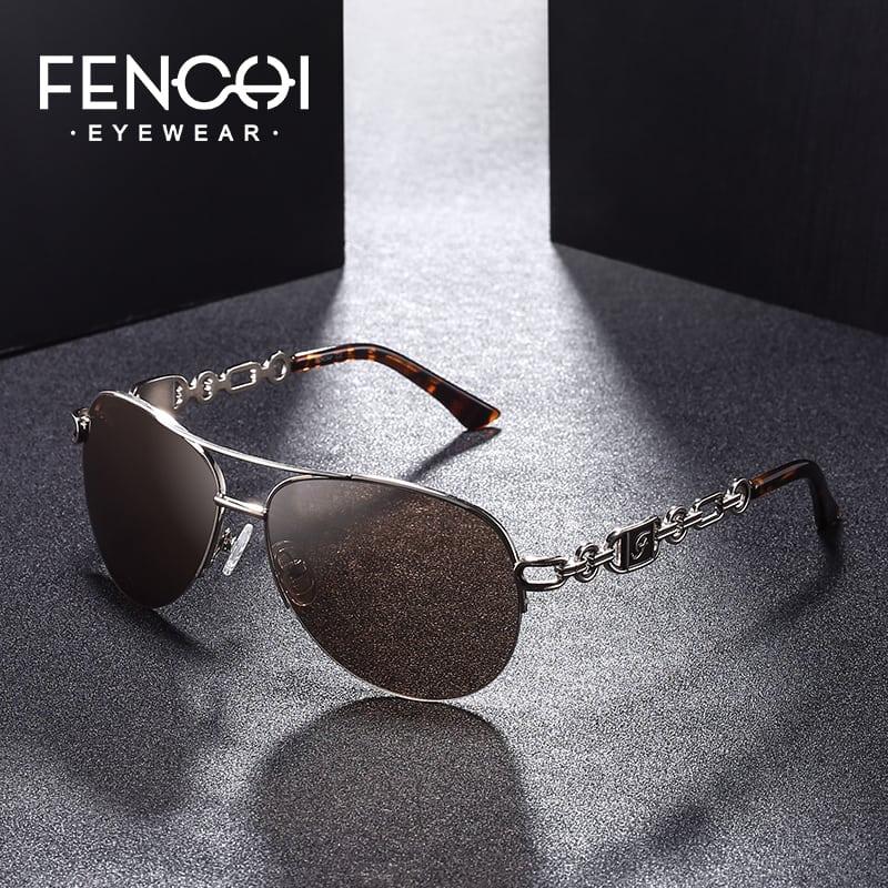 307cf009057 FENCHI Sunglasses Women Driving Pilot Classic Vintage Eyewear Sunglasses  High Quality