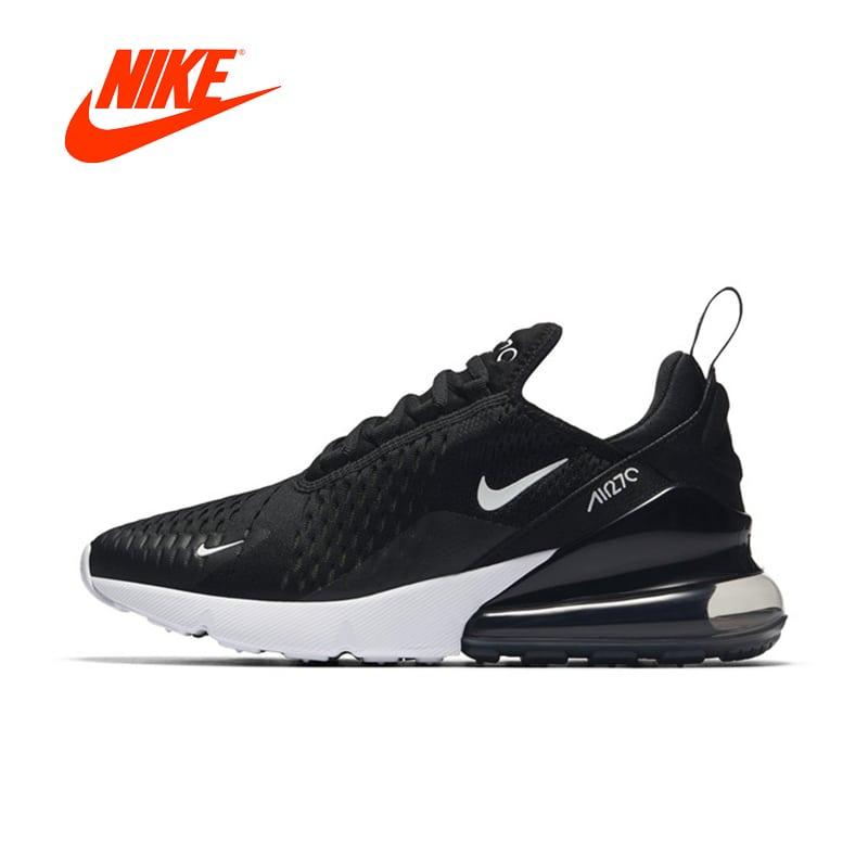 Original New Black Nike Air Max 270 Women Running Shoes Jeviu