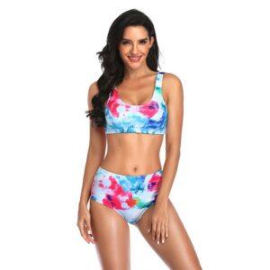 Swimsuit Women Brazilian Bikini Set Push Up High Waist Swimwear