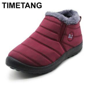 Women Waterproof Snow Boots for Women Casual Winter