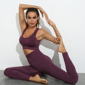 Fitness yoga gym suit workout suit