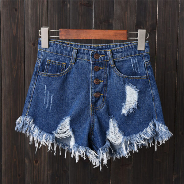 New Arrival Casual Summer Hot Sale Denim Women Shorts