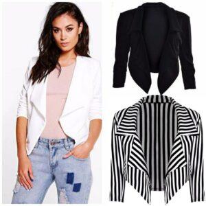 Women Blazers New Fashion Single Button Blazer