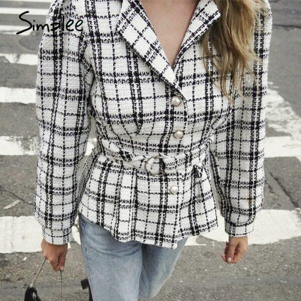 collar single-breasted women blazer coat Autumn winter