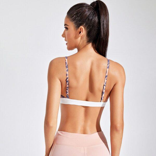 Women's Sports Bra Yoga Top Padding Workout Active Wear