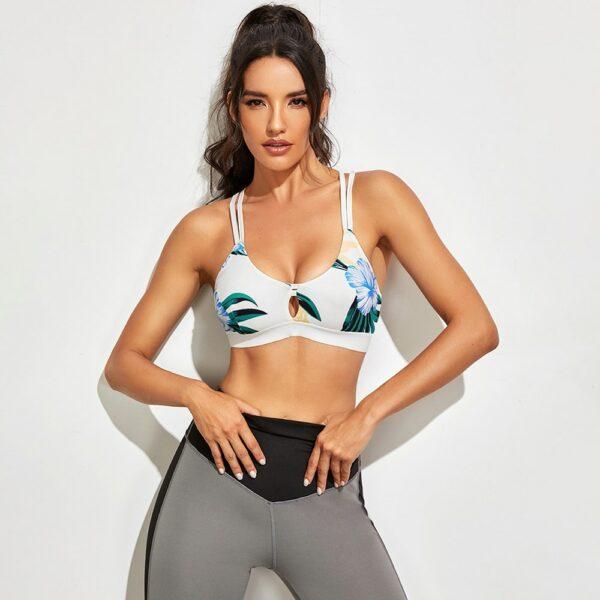 Sports Bras High Impact Workout Yoga Gym Fitness Bra